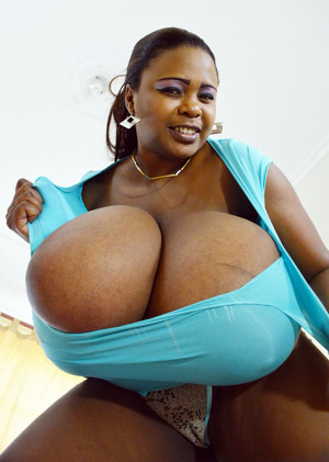Miosotis squeezes and bounces her huge..