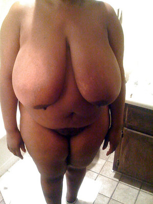 Fat black BBW exposing their huge..
