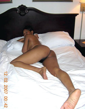 Flaming hot kinky amateur ebony GF..