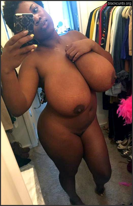 Big Natural Boobs O Black Women