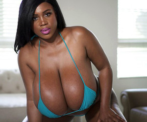 lush ebony cutie with amazing natural..