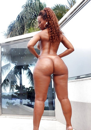 Only juicy big black butts! This babe..