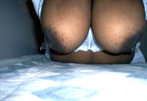 Ebony ex wife nude on sofa, she is..